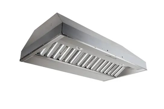 """42"""" Stainless Steel Built-In Range Hood with iQ6 Blower System, 800 Max CFM"""