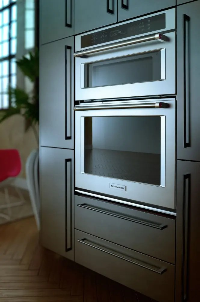 """30"""" Combination Wall Oven with Even-Heat™ True Convection (Lower Oven) - Stainless Steel Photo #5"""