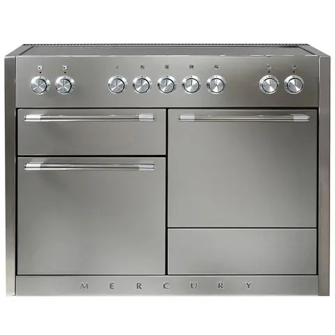 Mercury 48 Induction Stainless Steel with Chrome trim
