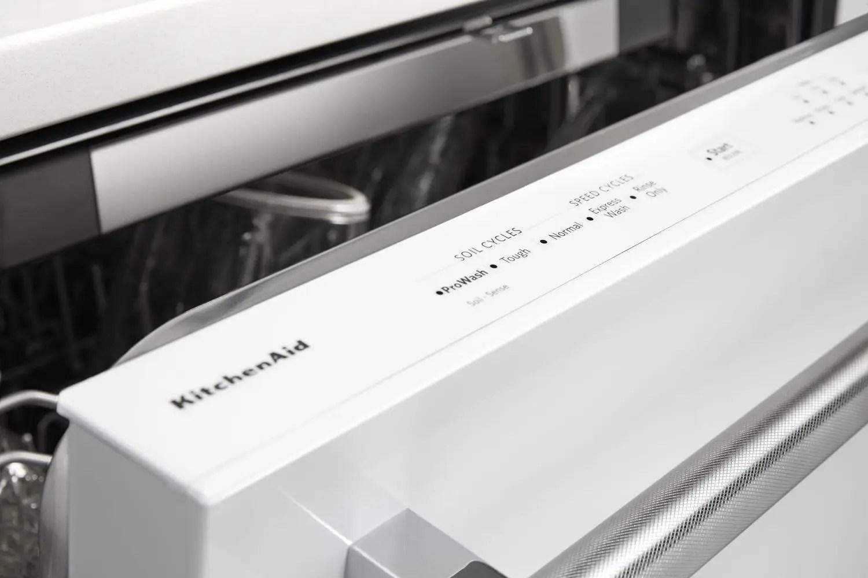 46 DBA Dishwasher with Third Level Rack White Photo #5