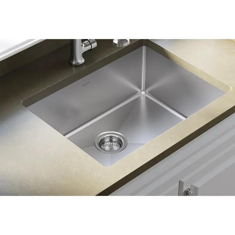 single bowl undermount sink kit