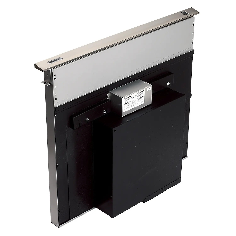 36-Inch Telescopic Downdraft Range Hood System, Stainless Steel