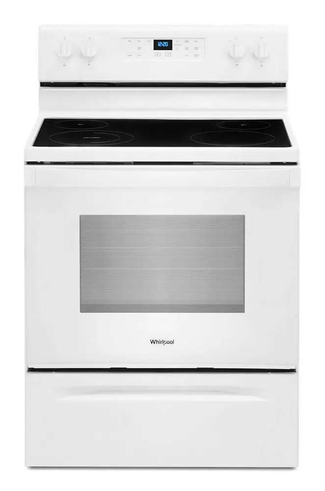 5.3 cu. ft.  electric range with Frozen Bake technology