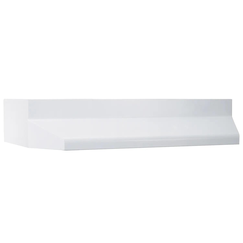 37000 Series 24-Inch Range Hood Shell in White