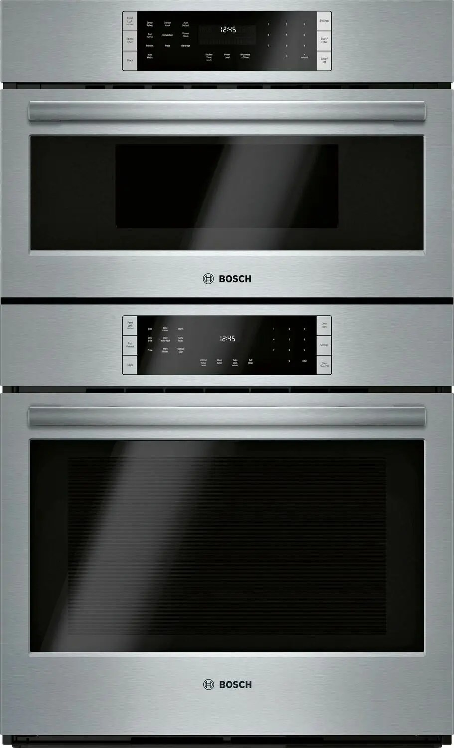 800 Series Combination Oven 30'' Stainless Steel  Photo #1