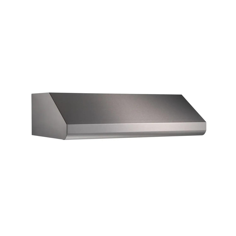 Elite E64 Pro-Style 36-Inch Under-Cabinet Range Hood w/ 600 CFM Internal Blower & Light, Stainless Steel