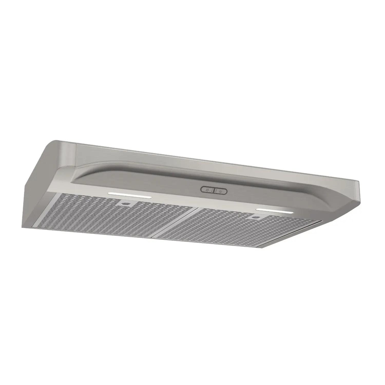 Elite 30-Inch Convertible Under-Cabinet Range Hood, Stainless Steel