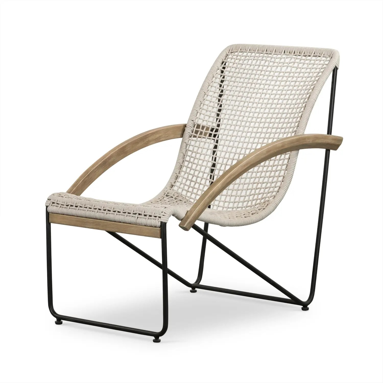 augie outdoor chair natural eucalyptus