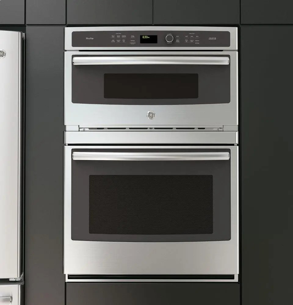ge profile 30 in combination double wall oven with convection and advantium technology