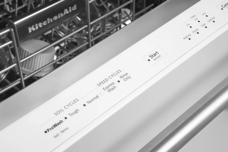 46 DBA Dishwasher with Third Level Rack White Photo #4