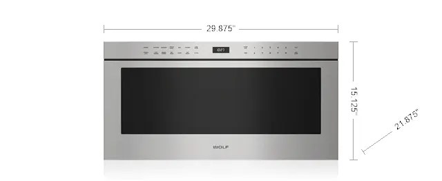professional drawer microwave bray