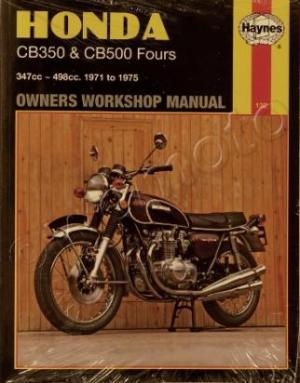 Honda CB 500 (Four) K1K2 7273 Manual Haynes Parts at