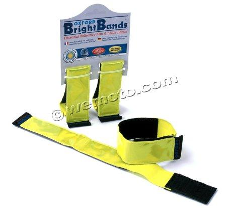 Hi Vis - Reflective Arm & Ankle Bands by Oxford Pack of 2