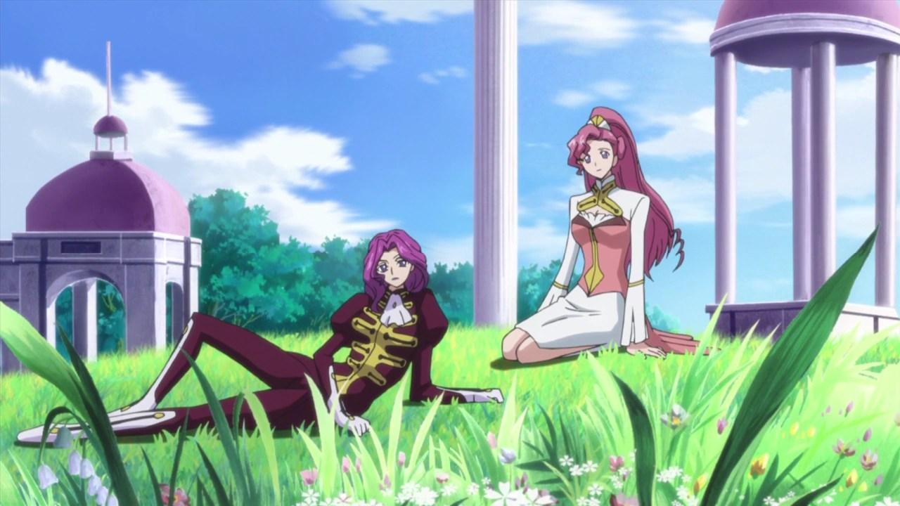 Euphie et Cornelia Code Geass