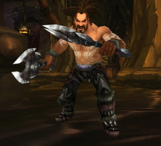 A Vrykul in Wrath of the Lich King