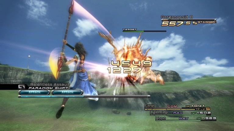 Final Fantasy XIII Gameplay vs Final Fantasy X/X-2 HD Remaster
