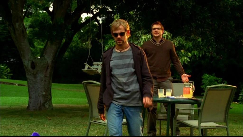 Charlie e suo fratello Liam
