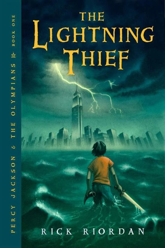 First book in the Percy Jackson & the Olympians series by Rick Riordan