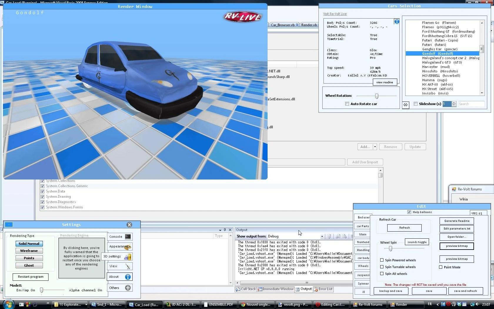 Car::Load 1.83 pre-alpha