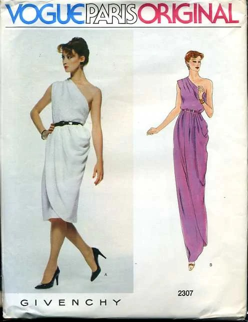 Vogue 2307 by Givenchy (1979)