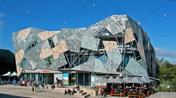 Federation Square di Melbourne (Australia)