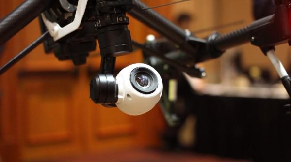 La videocamera del DJI Inspire 1