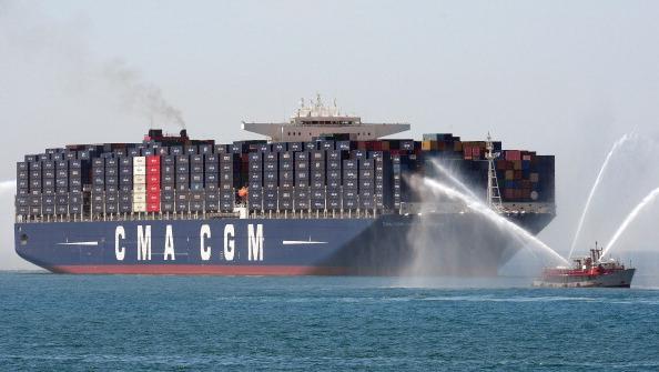 (La CMA CGM Jules Verne, la più grande portacontainer del mondo - Foto: Gerry Images)