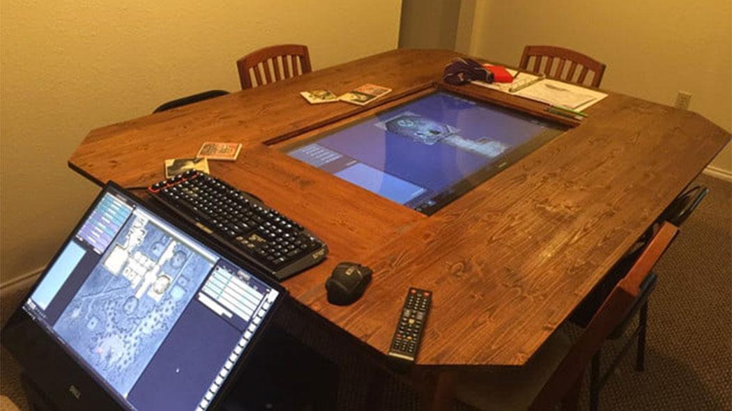 Il Tavolo Digitale Per Giocare Ai Giochi Di Ruolo Wired