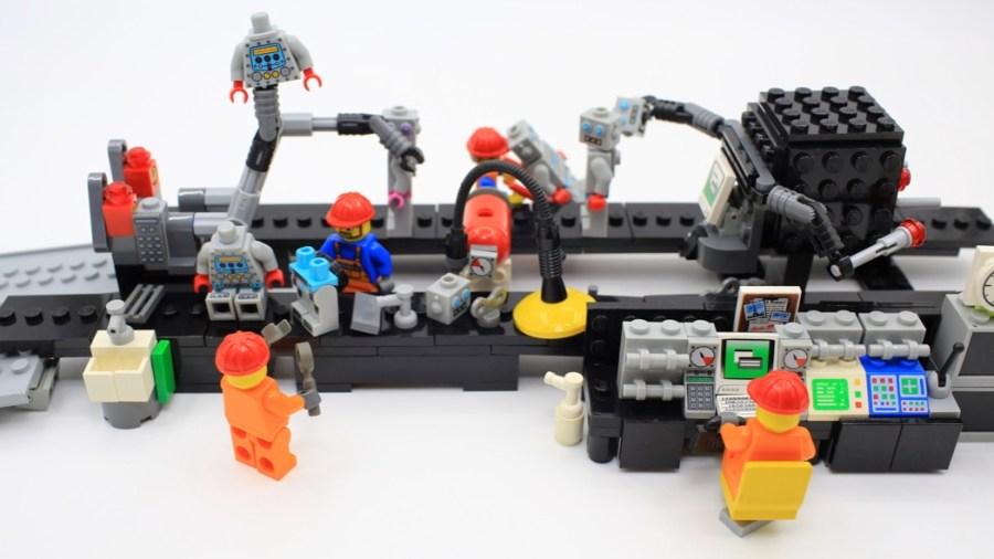 L'industria 4.0 raccontata con i Lego (Getty Images)