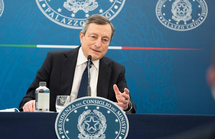 Il presidente del Consiglio dei ministri, Mario Draghi (foto: Palazzo Chigi)