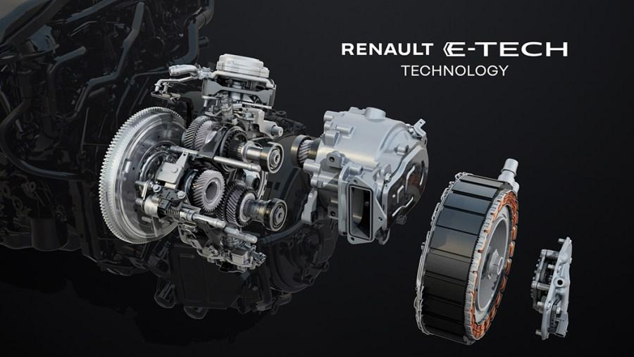 La motorizzazione E-Tech 145 full hybrid di Renault Arkana