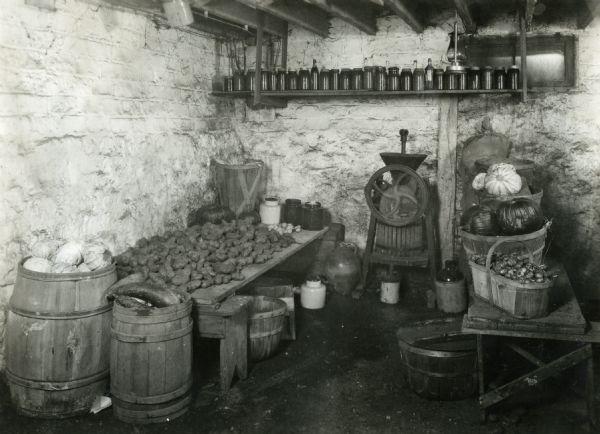 Image result for historic barrel storage photographs