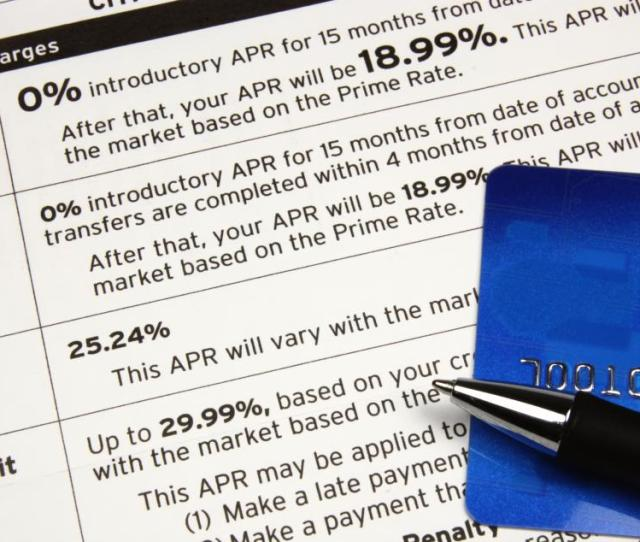The Interest Rate Charged On A Credit Card Is Expressed As An Annual Percentage Rate