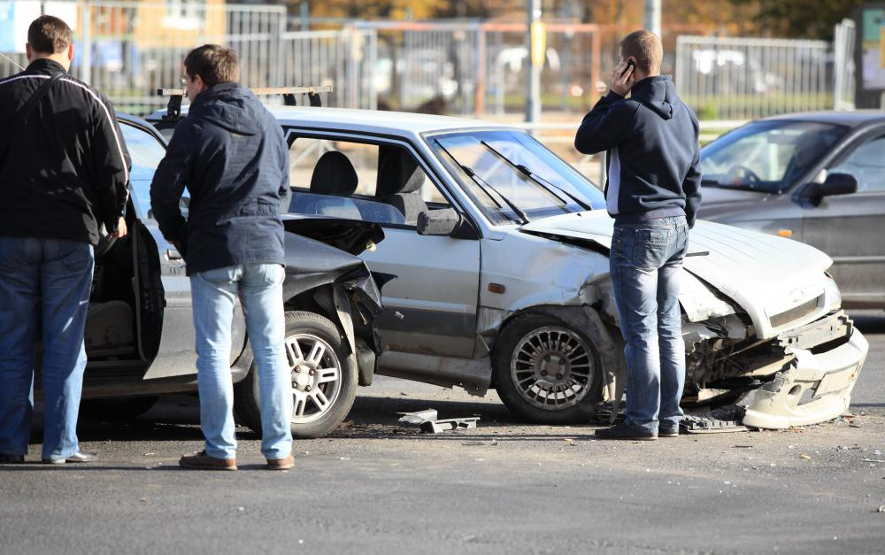 Insurance premiums cover vehicle owners in the event of an accident.