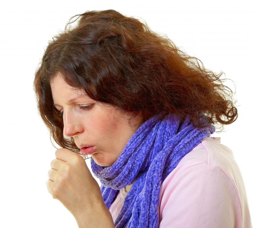 ... hydrated throughout the day can cause a dry throat and coughing