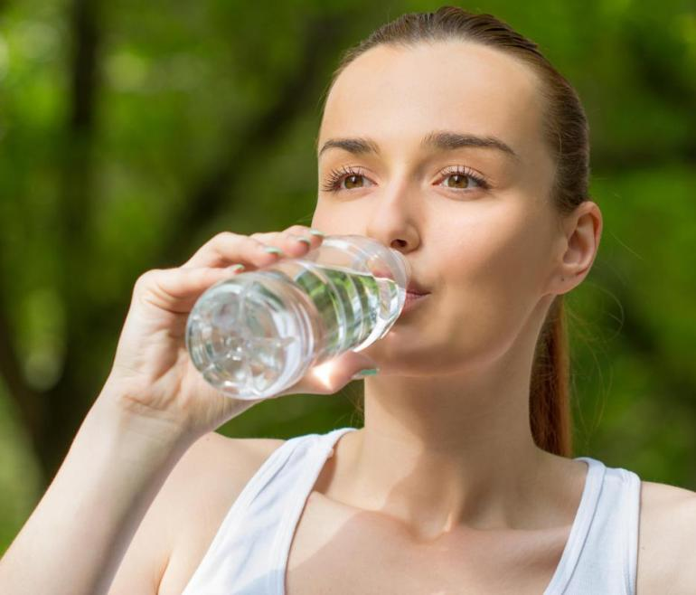 Image result for water helps in physical appearance