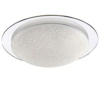 LED Deckenleuchte, Sternenhimmel, dimmbar, IP44, D 45cm 1x ...