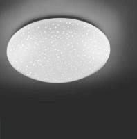 LED Deckenleuchte, Sternenhimmel, rund, warmweiß, D=25 o ...