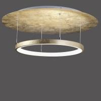 LED Deckenleuchte rund, edle Oberfläche, 27W LED, 2000lm ...