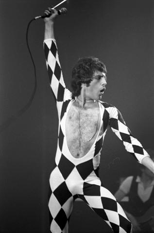Freddie Mercury unitard