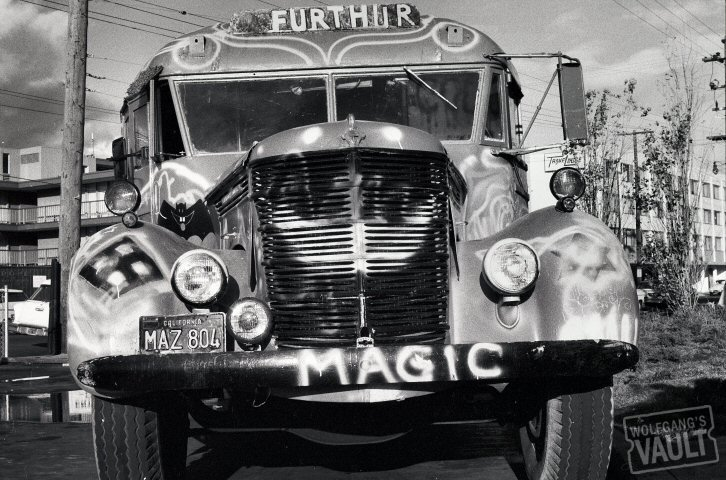 Ken Kesey's Bus Premium Vintage Print