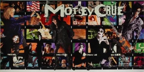 motley crue vintage concert poster 1997 at wolfgang s