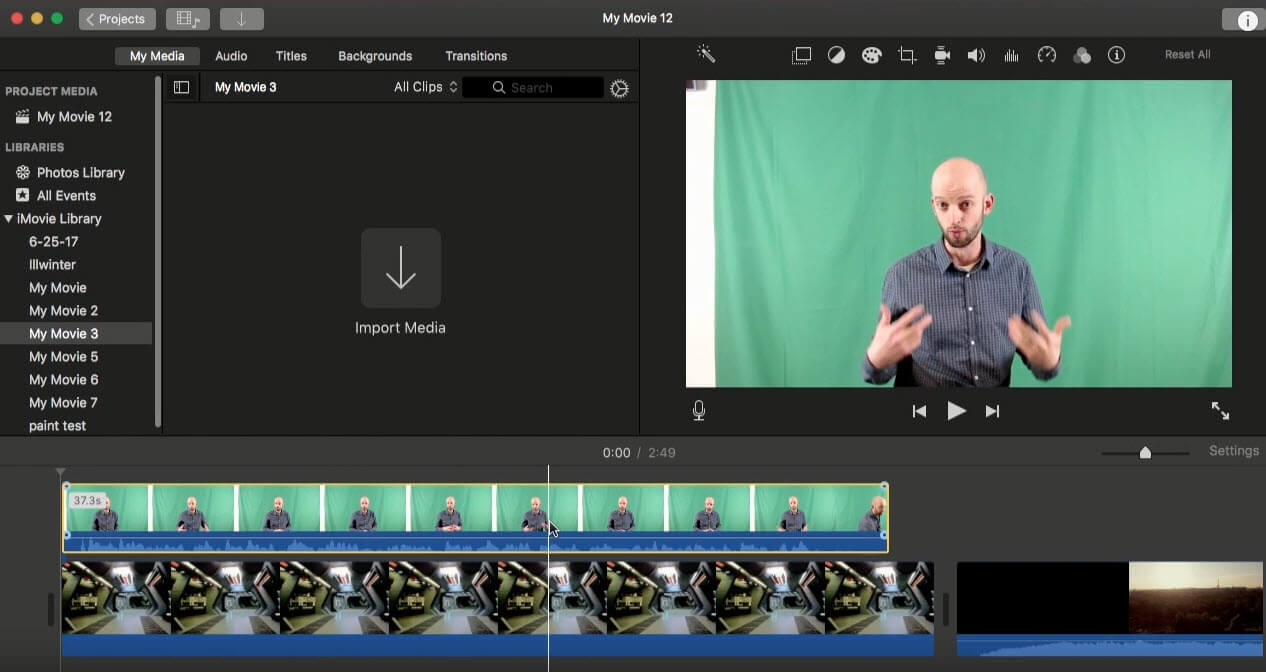 How to Use Green Screen in iMovie how to do green screen in imovie