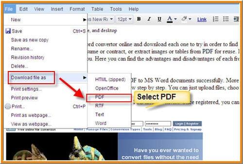 كيفية حفظ ملف Word دوك و Docx كملف Pdf مجانا