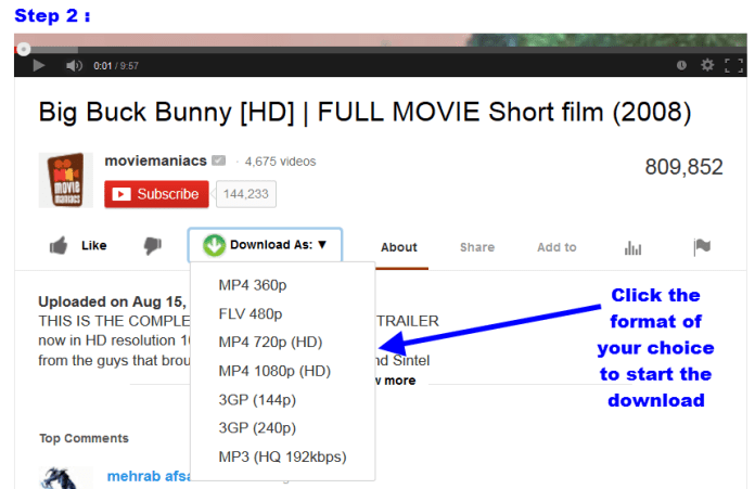 Top 3 Youtube Downloader Add Ons
