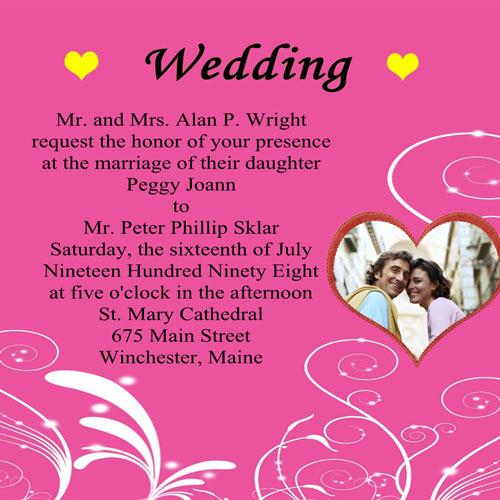 Wedding Invitation Wording Sles 01
