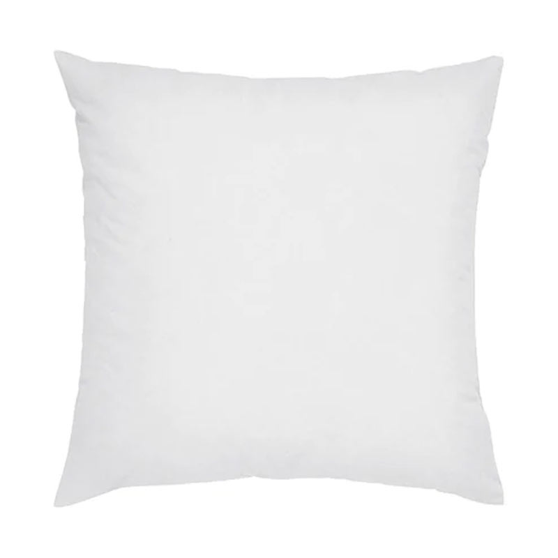 buy white synthetic fill cushion 18 x 18 inch online in india wooden street