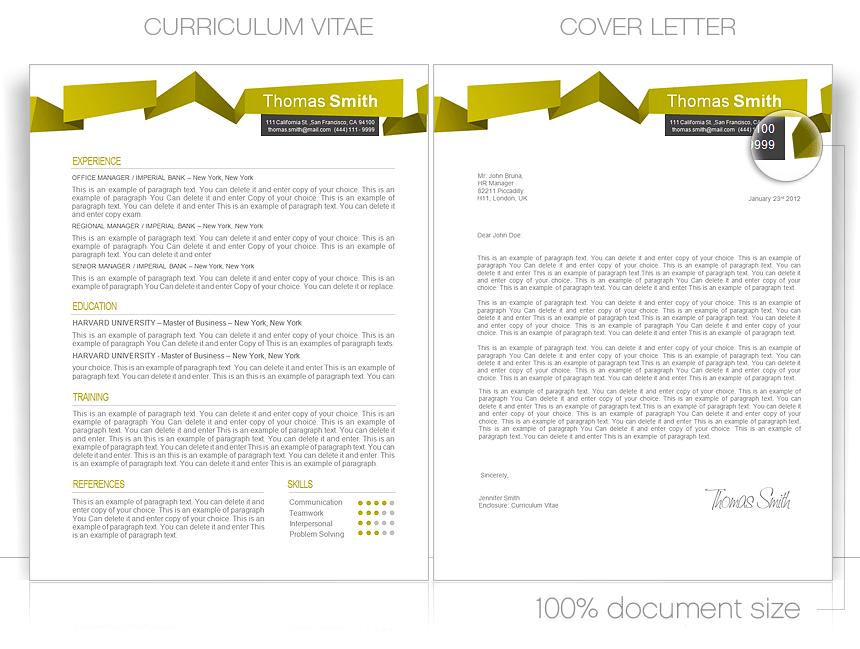 resume templates cover letter templates cvspecial com 164069