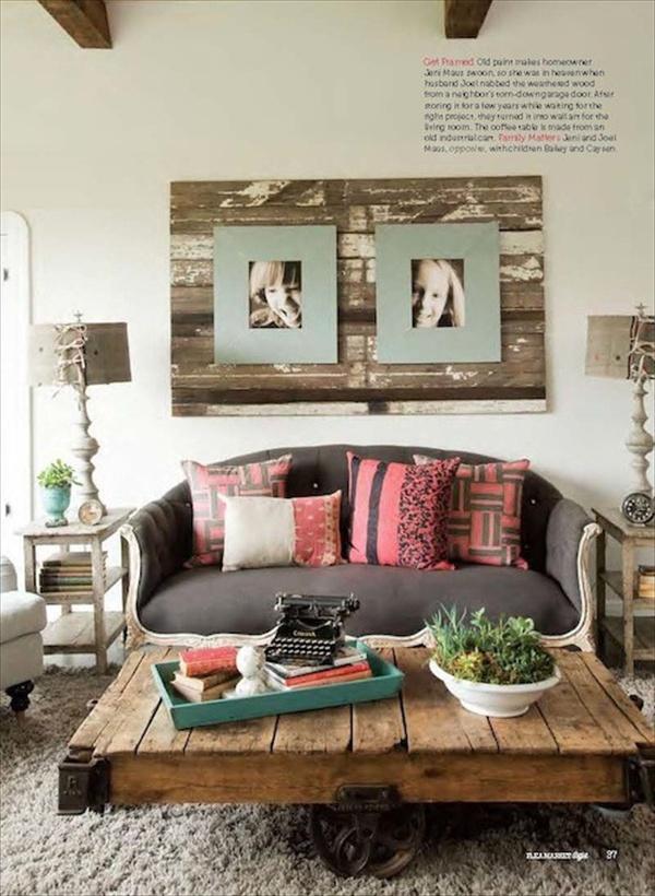 25 Imaginative New Pallet Decor Ideas for Home | Pallet Furniture