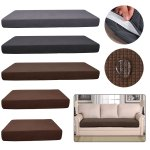 Stretchy 1 3 Sofa Seats Square Cushion Cover Couch Slip Covers Protector Fabric Ebay